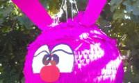 Пиньята_Заяц розовый